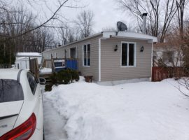 Ile Bizard! $53,000! Wonderful Mobile Home!